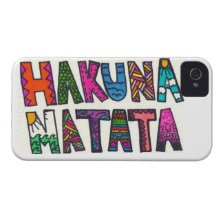 Hakuna Matata iPhone 4 Cover