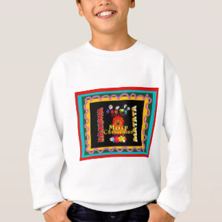 Hakuna Matata Merry Christmas Holiday Season Color Sweatshirt