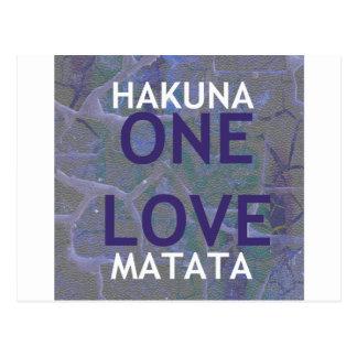 HAKUNA MATATA POSTCARD