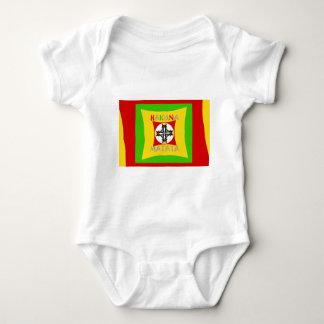 Hakuna Matata Rasta Color Red Golden Green Baby Bodysuit