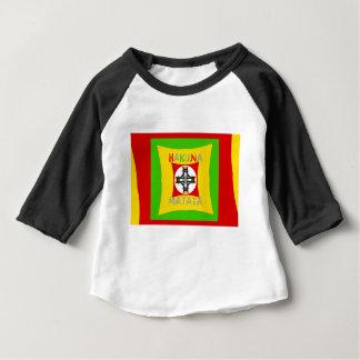 Hakuna Matata Rasta Color Red Golden Green Baby T-Shirt