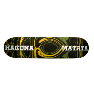 Hakuna Matata Retro Boys & Girls Custom Skateboard