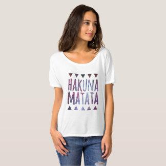 Hakuna Matata Shirt, Galaxy T-Shirt