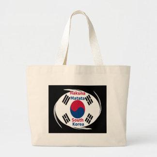 Hakuna Matata South Korea Large Tote Bag