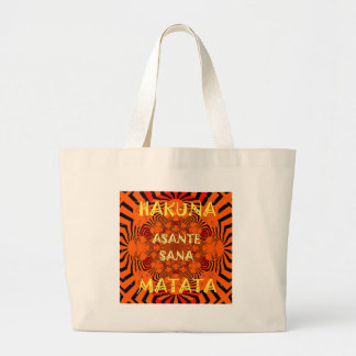Hakuna Matata Uniquely Exceptionally latest patter Large Tote Bag