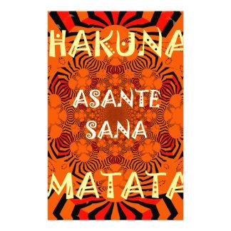 Hakuna Matata Uniquely Exceptionally latest patter Stationery