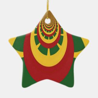 Hakuna Matata Vintage COOL RETRO jamaicas Rastas Ceramic Ornament