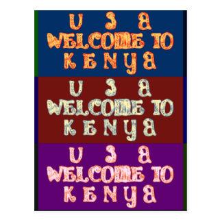 Hakuna Matata Welcome to Kenya.png Postcard