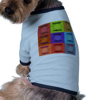 Hakuna Matata Wisdom Enriched Ringer Dog Shirt