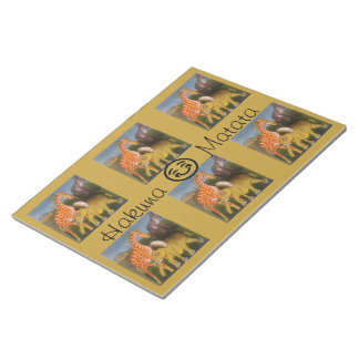 Hakuna Matata With a Smile Notepad