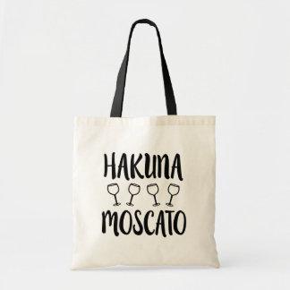 Hakuna Moscato funny wine bag
