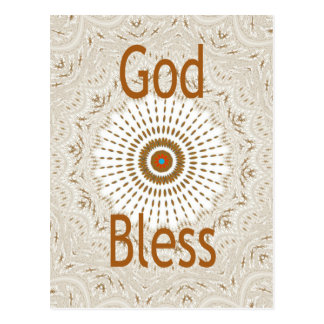 Hakuna Mtata God Bless Postcard