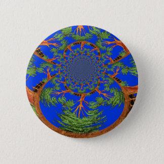HakunaMatata I'm not allergic to people Eco tree 6 Cm Round Badge