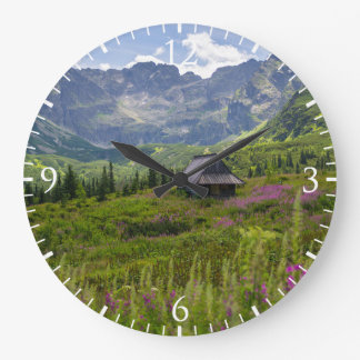 Hala Gasienicowa Mountain Huts Large Clock