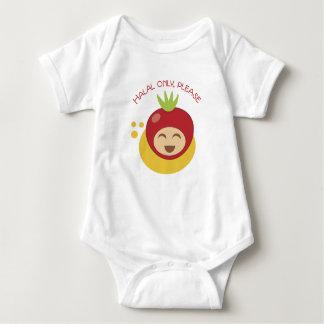 Halal Only Please Baby Bodysuit