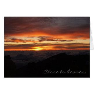 Haleakala, Close to heaven Card