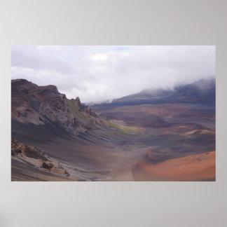 Haleakala Crater - Maui, Hawaii Poster