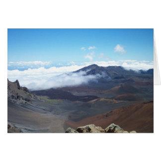 Haleakala, Hawaii Card
