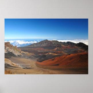 Haleakala Mountains Poster