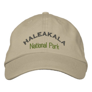 Haleakala National Park Embroidered Hat