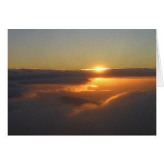Haleakala Sunrise Card