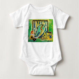 Haleiwa Hawaii Hula Aloha baby Baby Bodysuit