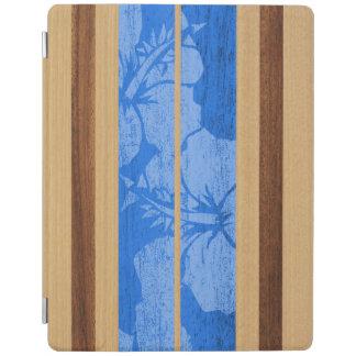 Haleiwa Surfboard Hawaiian FauxWood iPadSmartCover iPad Cover