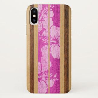 Haleiwa Surfboard Hawaiian iPhone case