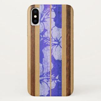 Haleiwa Surfboard Hawaiian iPhone X Case