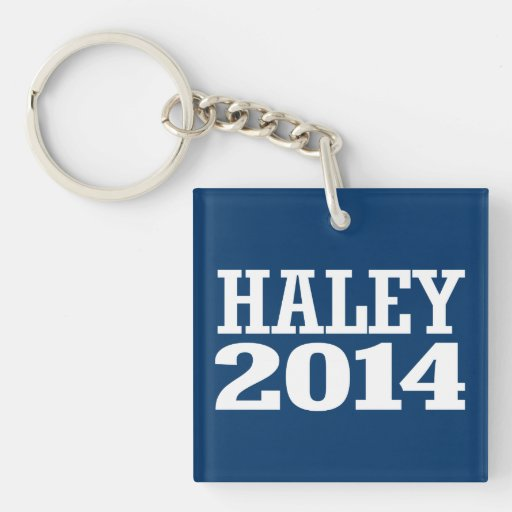 HALEY 2014 KEYCHAINS