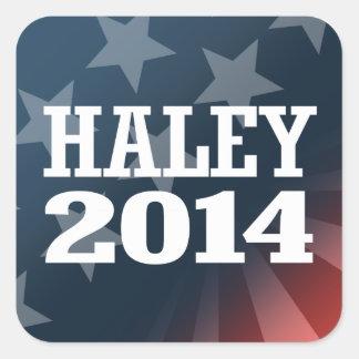 HALEY 2014 STICKERS