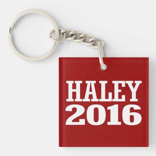 HALEY 2016 KEY CHAIN
