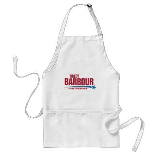 Haley Barbour for President Standard Apron