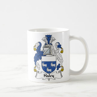 Haley Family Crest Coffee Mug