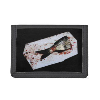 Half a Fish Photo Tri-fold Wallet
