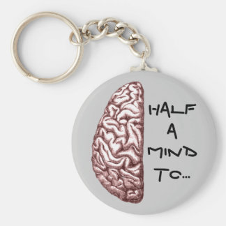 Half a Mind Keychain