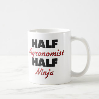 Half Agronomist Half Ninja Coffee Mug