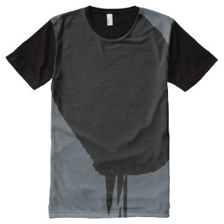 Half All-Over Print T-Shirt