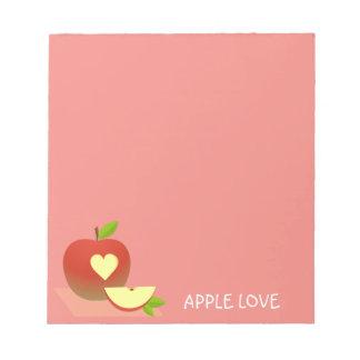 Half Apple Notepad