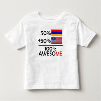 Half Armenian Half American Toddler T-Shirt