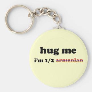 Half Armenian Key Ring