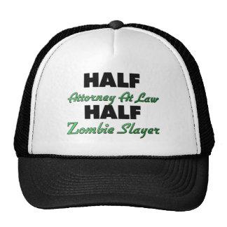 Half Attorney At Law Half Zombie Slayer Cap