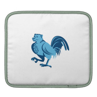 Half Bear Half Chicken Hybrid Marching Retro iPad Sleeves