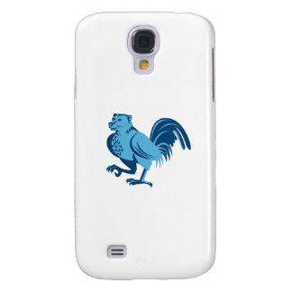 Half Bear Half Chicken Hybrid Marching Retro Samsung Galaxy S4 Case