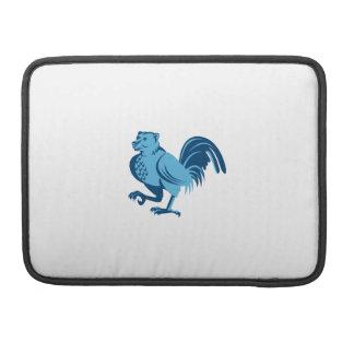 Half Bear Half Chicken Hybrid Marching Retro Sleeve For MacBooks