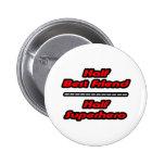 Half Best Friend Half Superhero Pin