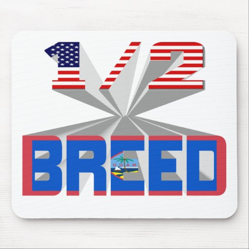 Half Breed - Guam Mouse Pads