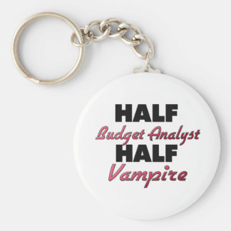 Half Budget Analyst Half Vampire Key Chains