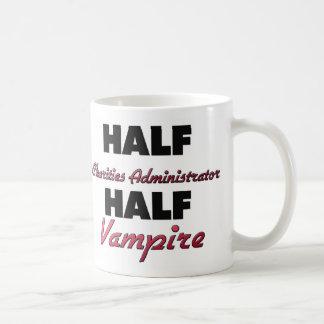 Half Charities Administrator Half Vampire Coffee Mugs