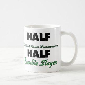 Half Children s Resort Representative Half Zombie Coffee Mugs